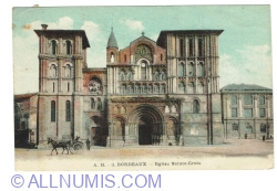 Image #1 of Bordeaux - Church of the Holy Cross (1919)