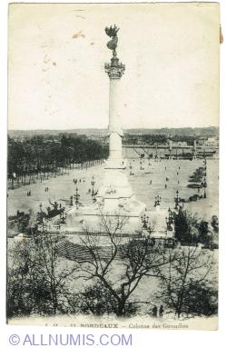 Image #1 of Bordeaux - Colonne aux Girondins (1920)
