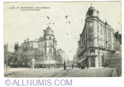 Image #1 of Bordeaux - Cours Pasteur et Cours Victor-Hugo (1916)