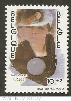 Image #1 of 10 + 2 Francs 1992 - Barcelona 1992