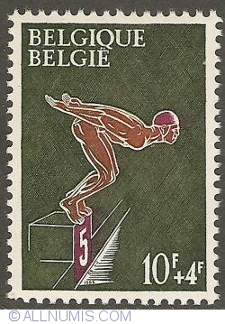 Image #1 of 10 + 4 Francs 1966 - Swimming