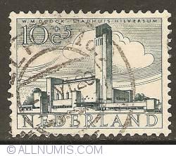 Image #1 of 10 + 5 Cent 1955 - City Hall of Hilversum