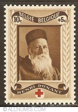 Image #1 of 10 + 5 Centimes 1939 - Henri Dunant