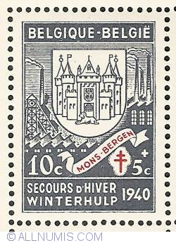 Image #1 of 10 + 5 Centimes 1941 - Mons