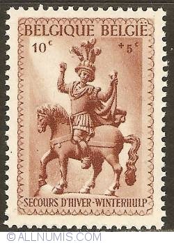 Image #1 of 10 + 5 Centimes 1941 - Winter Help - St. Martin