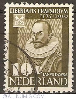 Image #1 of 10 Cent 1950 - Leiden University - Janus Dousa