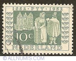 Image #1 of 10 Cent 1952 - Postman in 1852