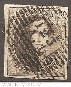 Image #1 of 10 Centimes 1851 - King Leopold I