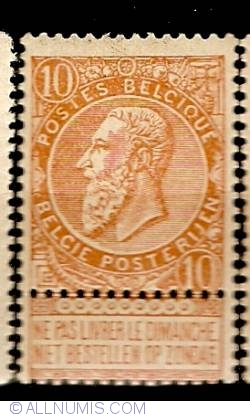 Image #1 of 10 Centimes 1893 - Leopold II