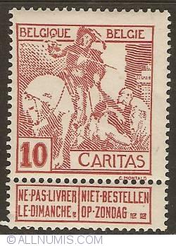 Image #1 of 10 Centimes 1910 - Anthony van Dijck - Saint Martin
