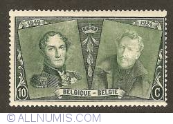 Image #1 of 10 Centimes 1925 - Leopold I and Albert I