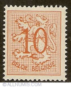 Image #1 of 10 Centimes 1951 - Heraldic Lion