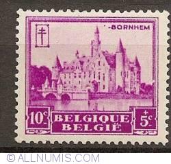 Image #1 of 10+5 Centimes 1930 - Castle of Bornem