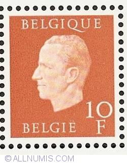 Image #1 of 10 Francs 1976 - Silver Jubilee King Baudouin