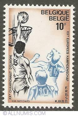 Image #1 of 10 Francs 1977 - Basketball