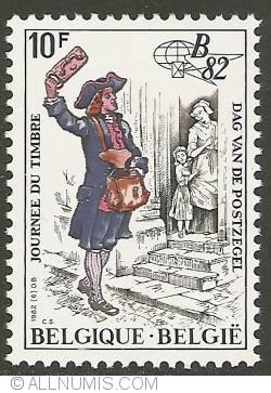 Image #1 of 10 Francs 1982 - Postman