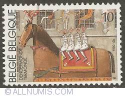 Image #1 of 10 Francs 1990 - Dendermonde - Ros Beiaard