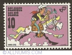 Image #1 of 10 Francs 1990 - Lucky Luke