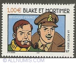 Image #1 of 1,00 Euro 2004 - Blake and Mortimer