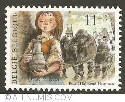 Image #1 of 11 + 2 Francs 1992 - Fiere Margriet