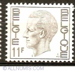Image #1 of 11 Francs 1976 Baudouin I