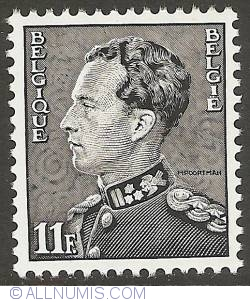Image #1 of 11 Francs 1983 - Leopold III - Mourning Stamp