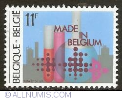 11 Francs 1984 - Chemical Industry