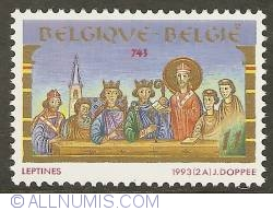 Image #1 of 11 Francs 1993 - Council of Leptines (744)
