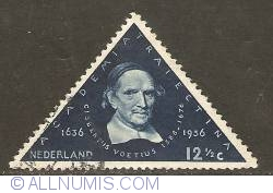 Image #1 of 12 1/2 Cent 1936 - Utrecht University - Gisbertus Voetius