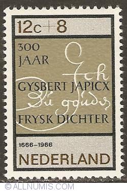 Image #1 of 12 + 8 Cent 1966 - Gysbert Japicx