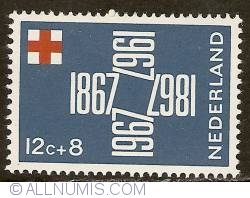 Image #1 of 12 + 8 Cent 1967 - Red Cross