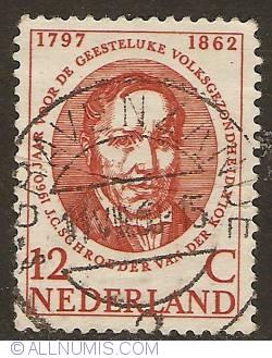 Image #1 of 12 cent 1960 - Mental Health - J.C. Schroeder van der Kolk