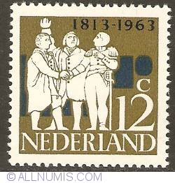 Image #1 of 12 Cent 1963 - 150th Anniversary of Independence