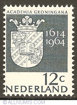 Image #1 of 12 Cent 1964 - 350th Anniversary of Groningen University