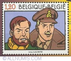 Image #1 of 1,20 Euro 2004 - Blake and Mortimer