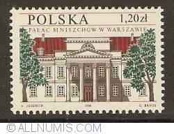 Image #1 of 1,20 Zloty 1998 - Mniszech Palace - Warsaw
