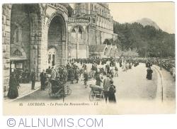 Image #1 of Lourdes - Le Poste des Brancardiers (1920)