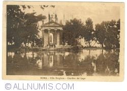 Roma - Villa Borghese - Grădina Lacului
