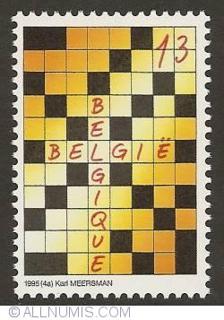 Image #1 of 13 Francs 1995 - Crosswords