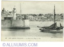Image #1 of Les Sables d'Olonne - Le Phare et la Plage (1917)