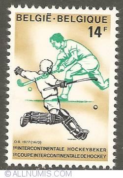 Image #1 of 14 Francs 1977 - Hockey