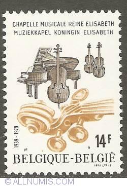 14 Francs 1979 - Chapel Queen Elisabeth