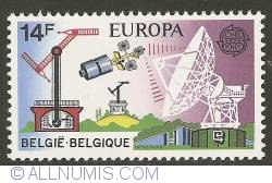 Image #1 of 14 Francs 1979 - Telecommunication