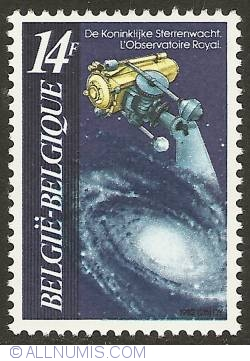 14 Francs 1982 - Royal Observatory
