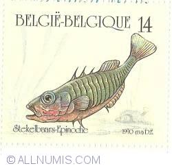 Imaginea #1 a 14 Francs 1990 - Stickelback