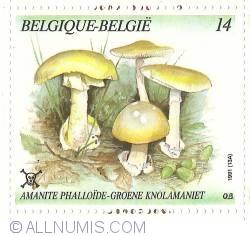 Image #1 of 14 Francs 1991 - Amanitus Phalloides