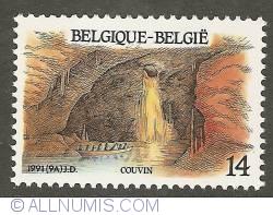 Imaginea #1 a 14 Francs 1991 - Couvin - Caverne de l'Abîme