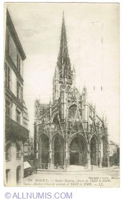 Image #1 of Rouen - Church of Saint-Maclou (1919)