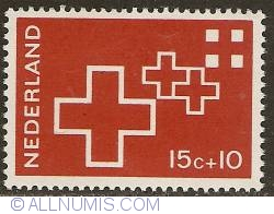 Image #1 of 15 + 10 Cent 1967 - Red Cross