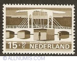 Image #1 of 15 + 10 Cent 1968 - Amsterdam - Magere Brug